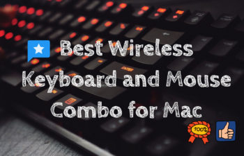 Wireless Keyboard and Mouse Combo for Mac